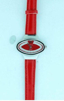 Beautiful Casual Red Fashion Costume Jewelry Strap Watch 1286-RD