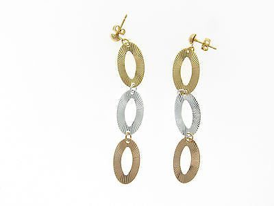 Gold Layered Earrings 02320069