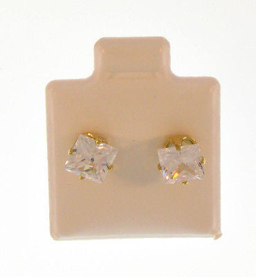 Elegant Simple Stylish Stud Gold Layered Earrings 02100006