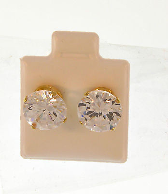 Elegant Simple Stylish Stud Gold Layered Earrings 02100004