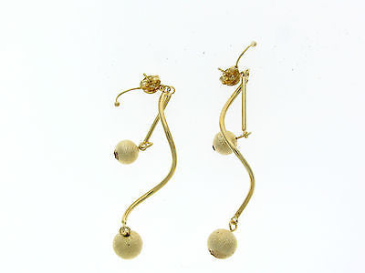 Fun Dangle Gold Layered Earrings 02240003