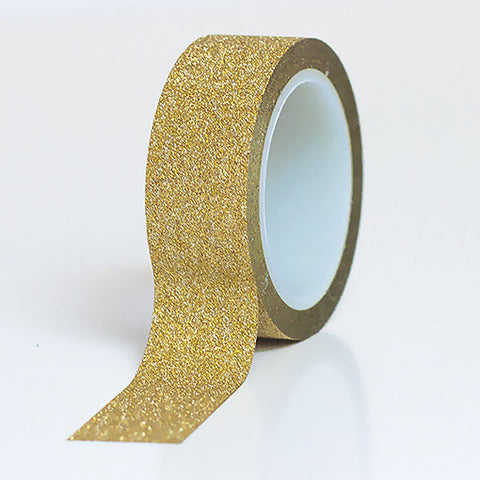 Gold Glitter Washi Tape
