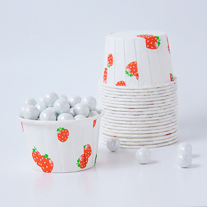 Candy Cups - Sweet Strawberries