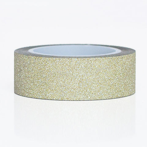 Glitter Washi Tape - Champagne Gold