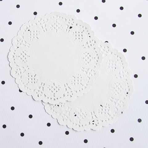 French Lace Paper Doilies