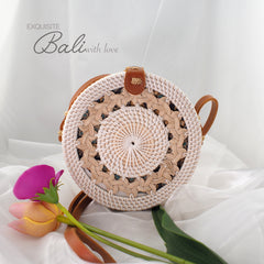 Trendy Rattan Bag Plain
