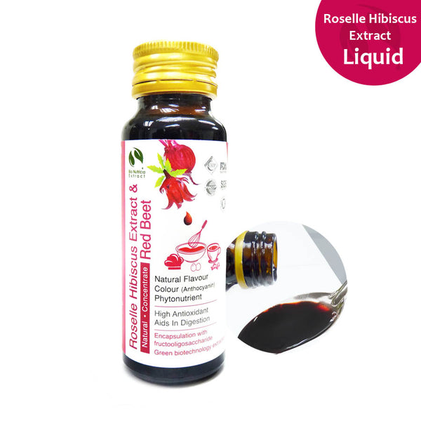 Roselle Hibiscus Extract Liquid Concentrate