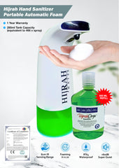 Hijrah Hand Sanitizer Portable Automatic Foam Dispenser