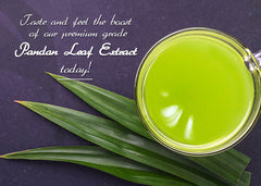 Pandan Leaf Liquid Extract Concentrate