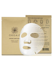 Greek Yogurt + Nourishing Organic Sheet Mask Box Set (4 Sheets)