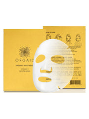Vitamin C + Revitalizing Organic Sheet Mask