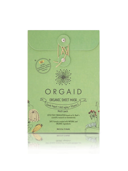Organic Sheet Mask Multi-Pack (6 Sheets)