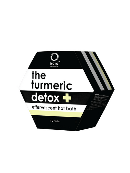 The Turmeric Detox Hot Bath