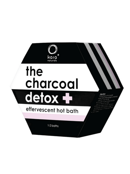 The Charcoal Detox Hot Bath