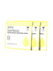 Juicy Bamboo Cloths To-Go - Kaia Naturals | Pure Beaute - Clean Beauty + Natural Skin Care