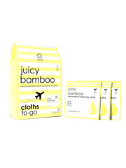 Juicy Bamboo Natural Facial Cleansing Cloths To-Go