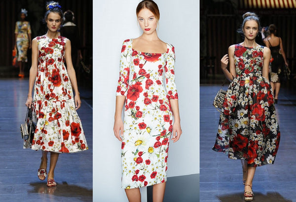Floral Dresses by Dolce & Gabbana