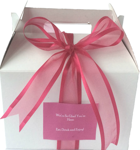 MPS Guilt-Free Beauty Welcome Box (White/Gable) - My Party Saver. Your Guest's Best Friend.™