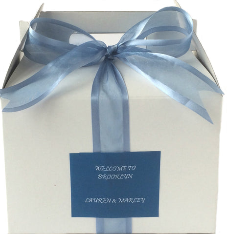 MPS Guilt-Free Smoke Blue Welcome Box (White/Gable) - My Party Saver. Your Guest's Best Friend.™