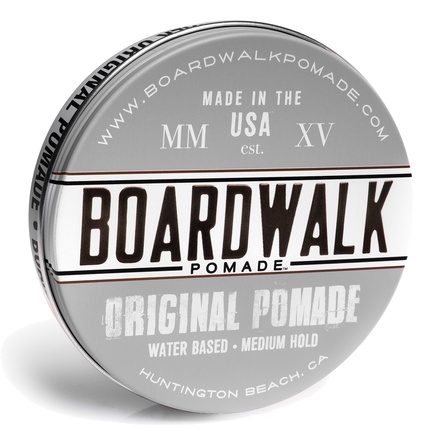 Boardwalk Original Pomade, water based and water soluble, aloe vera pomade, vegan pomade, natural pomade
