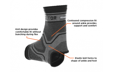 20298df340 ... Shock Doctor Compression Knit Ankle Sleeve - OCRFitStore