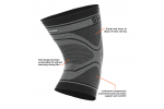 Shock Doctor Compression Knit Knee Sleeve - OCRFitStore - 2