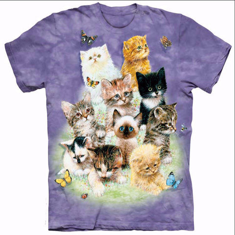 Butterflies Make Kittens Cuter T-Shirt