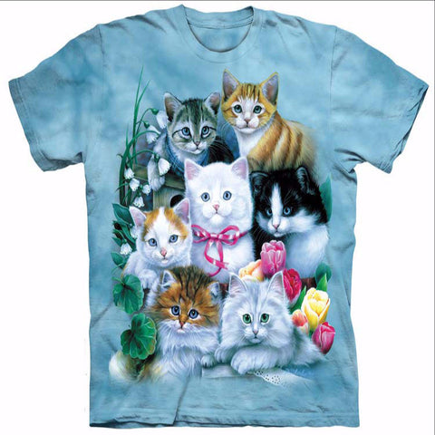 Cute Kitten Party T-Shirt