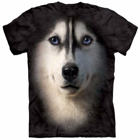 Unique Staring Husky T-Shirt