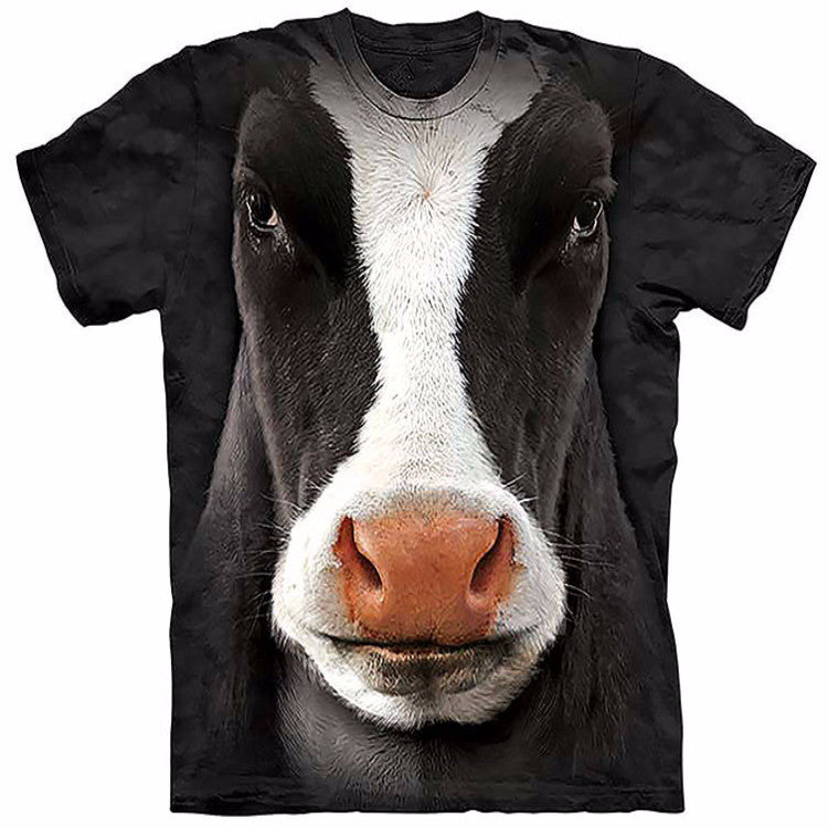 Unique Staring Cow T-Shirt