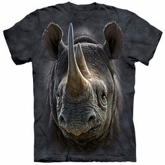 Unique Staring Rhino T-Shirt