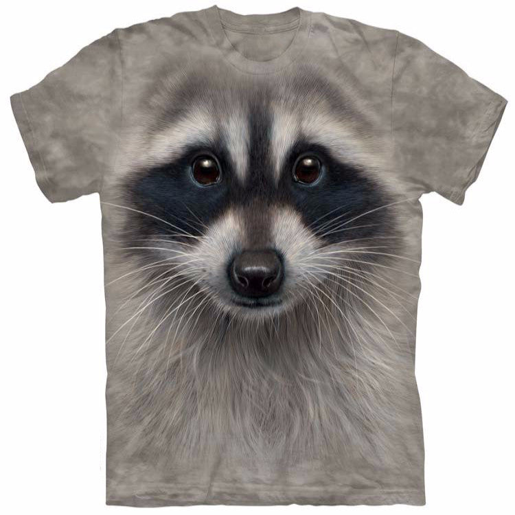 Unique Staring Raccoon T-Shirt