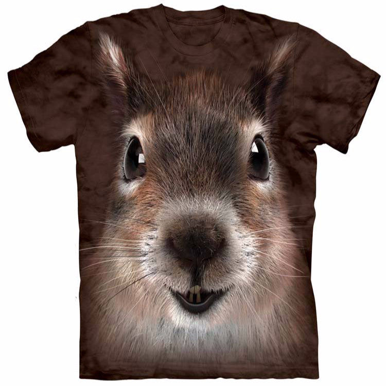 Unique Staring Squirrel T-Shirt