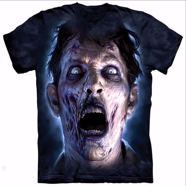 Crazy Staring Zombie T-Shirt