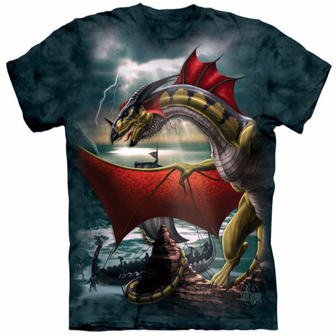 The Unshakable Red Winged Dragon T-Shirt