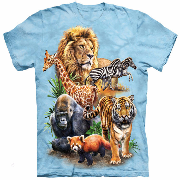 Majestic Jungle Creatures T-Shirt