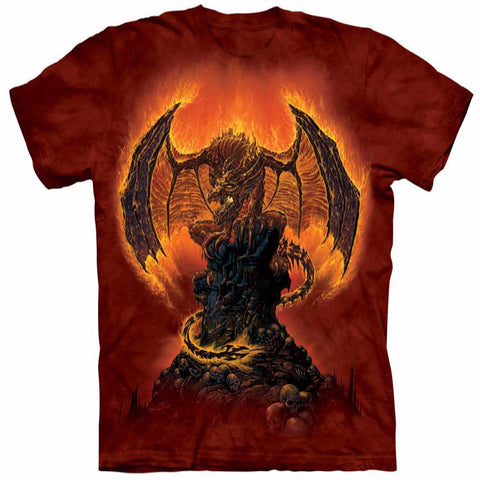 The Indubitable Dragon on Fire T-Shirt