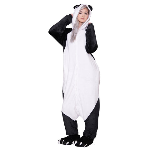 Panda Onesie - Adult Soft Plush Pajama