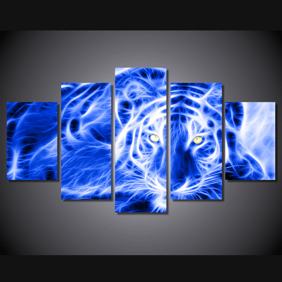 Art Tiger Canvas Collection