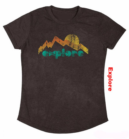 Outdoor Love Women's Tri-blend Collection