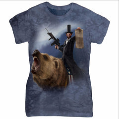 Lincoln and Bear Lead the Law Shirt