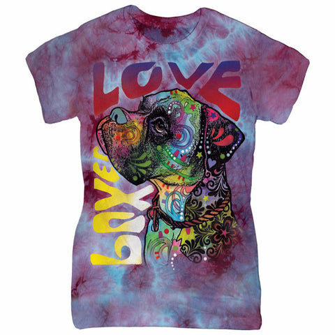 Colorful Boxer T-Shirt