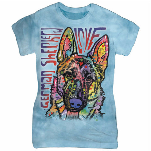 Colorful German Shepherd T-Shirt