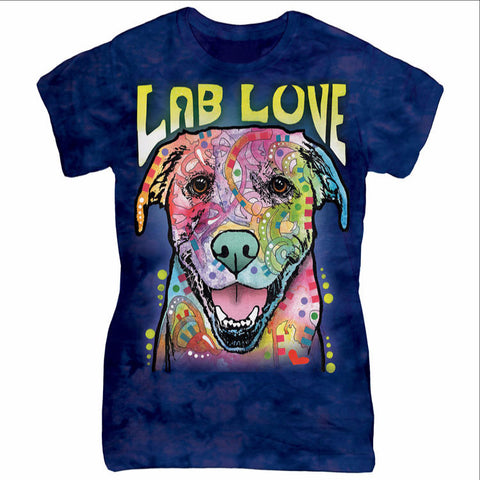 Colorful Labrador T-Shirt