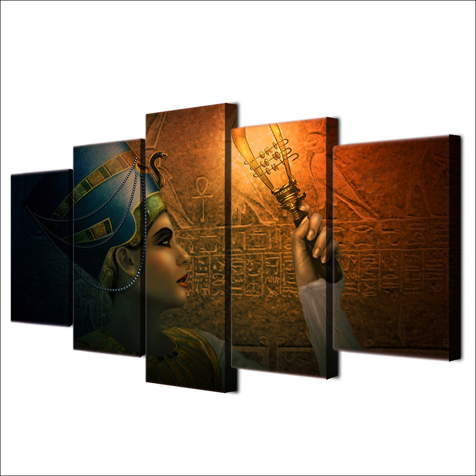Ancient Egyptian Canvas Collection