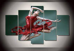 Beautiful Ballerina Canvas Collection