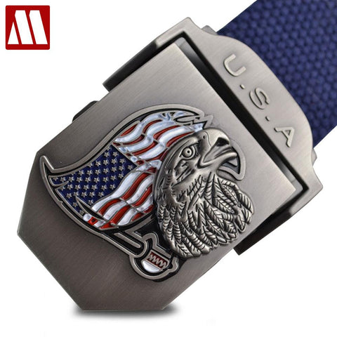 USA Eagle Canvas Belt
