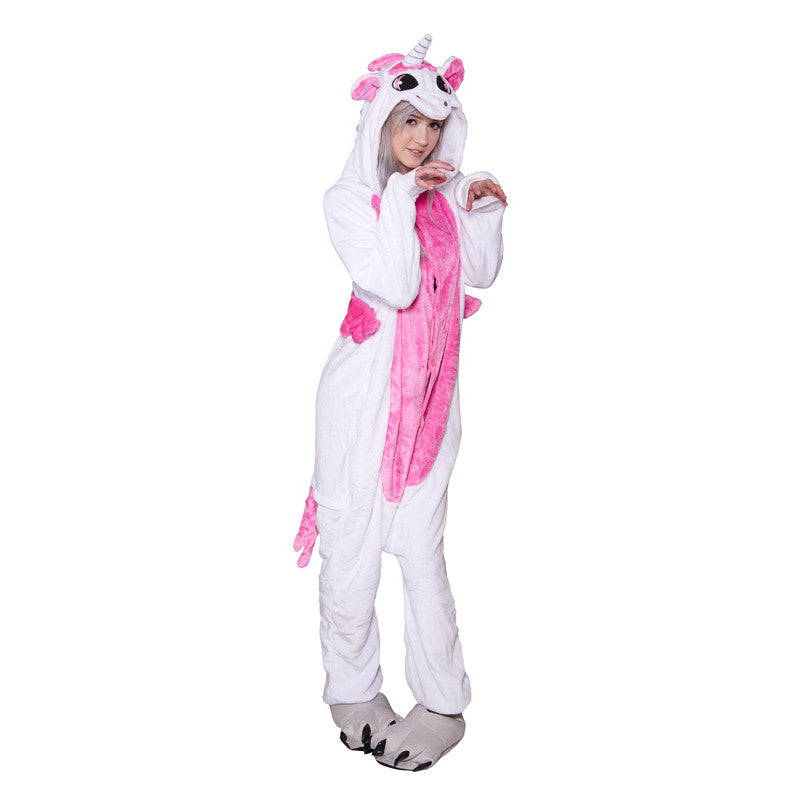 Unicorn Onesie - Adult Soft Plush Pajama