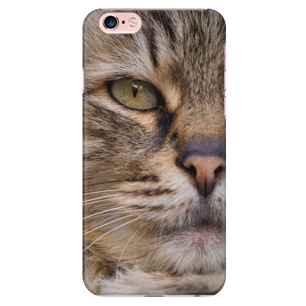 Cat Face Phone Case - iPhone and Samsung