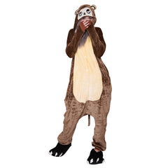 Monkey Onesie - Adult Soft Plush Pajama